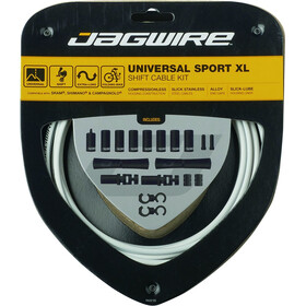 Jagwire Sport XL Set Cable Cambio 4000mm, blanco